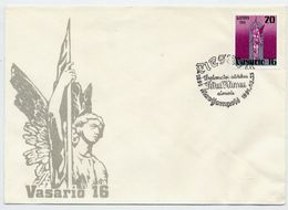 LITHUANIA 1991 Anniversary Of Republic On FDC.  Michel 470 - Lithuania