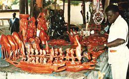 GAMBIA - (GAMBIE) - Curio Trader (Commerce De Curiosités) - Cpsm Rare En Très Bon état - Gambie