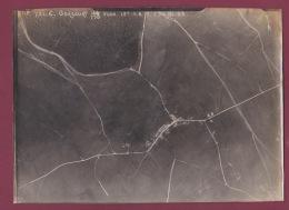 300118A PHOTO Aérienne Reconnaissance Allemande AVIATION GUERRE 14 18 MILITARIA - 55 GERCOURT ET DRILLANCOURT Gercourt - Autres Communes