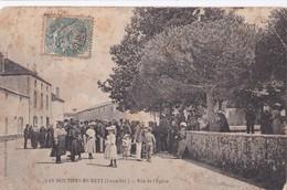 Carte 1905 LES MOUTIERS EN RETZ   / RUE DE L'EGLISE - Les Moutiers-en-Retz