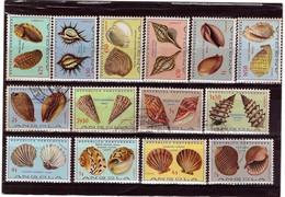 Angola - 1974 Shells / Conchas - Angola