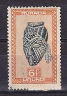 Ruanda-Urundi  Nr 168   Neufs - Postfris - MNH  (XX) - Ruanda-Urundi