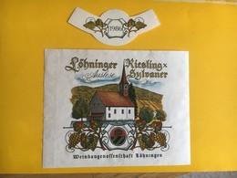 5719 -  Löhninger Riesling X Sylvaner 1986 Suisse - Etiquettes