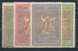 Rumänien Nr. 173-176 * ~ Michel 25,-- Euro - Unused Stamps