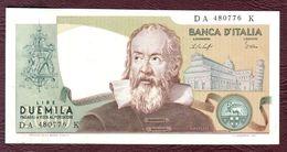 ITALIE - 2000 LIRE Galilée - 24/10/1983 - Sign. Ciampi Et Stevani. SPL - 2000 Lire
