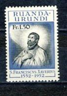 Ruanda-Urundi Nr 176  Neufs - Postfris- MNH  (XX) - 1948-61: Neufs