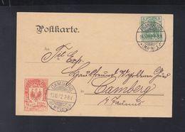 Dt. Reich PK Moriz Isaac Frankfurt Am Main 1902 - Werbepostkarten