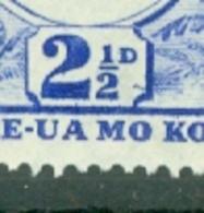 Tonga: 1942/49   Pictorial  SG77a   2½d  [Recut 2½]   MH - Tonga (...-1970)