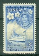 Tonga: 1951   50th Anniv Of Treaty Of Friendship Between G.B. And Tonga  SG98   3d   MH - Tonga (...-1970)