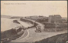 Falmouth Hotel And Marine Drive, Falmouth, Cornwall, 1922 - Valentine's Postcard - Falmouth