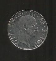 REGNO D' ITALIA - ITALIAN KINGDOM - 50 CENTESIMI (1941) IMPERO - 1861-1946 : Regno