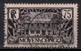 CONGO        N°  YVERT     126     ( 2 )         OBLITERE       ( S D  ) - Used Stamps