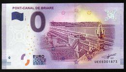 France - Billet Touristique 0 Euro 2018 N° 1873 (UEEE001873/5000) - PONT-CANAL DE BRIARE - EURO