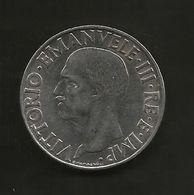 REGNO D' ITALIA - ITALIAN KINGDOM - 1 LIRA (1939) IMPERO - 1861-1946 : Regno