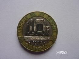 10 Francs - 1992 - K. 10 Francs