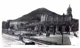 Lequeitio - Paseo Y Parroquia - Espagne