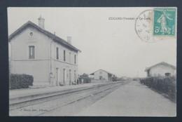 CPA Carte Postale CUGAND - Vendée - La Gare - Pontchâteau