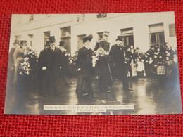 BRUXELLES - Visite Du Roi Albert I Et De La Reine Elisabeth à L'Hôpital Saint Jean - Royal Families