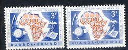 Ruanda-Urundi Nr 217-218  Neufs - Postfris - MNH  (XX) - 1948-61: Neufs