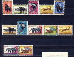 Ruanda-Urundi Nr 205-216  Neufs Avec Charnière - Postfris Met Plakker - MH  (X) - Ruanda-Urundi