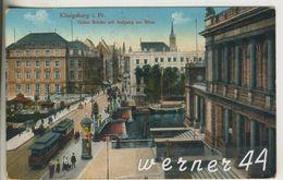 Königsberg V.1916 Grüne Brücke Mit Aufgang Zur Börse (13213) - Ostpreussen
