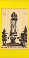 Rare MIRIBEL Carte En Bois (Woody -Carte EDM) Ain (01) - France