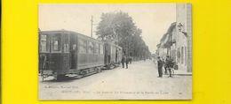 MONTLUEL La Station Du Tramway Et Route De Lyon (Brossette) Ain (01) - Montluel