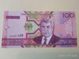 100 Manat 2005 - Turkménistan