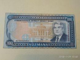 100 Manat 1995 - Turkmenistan