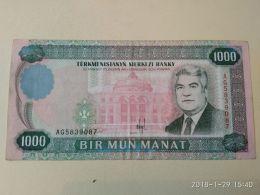 1000 Manat 1995 - Turkmenistan
