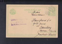 Hungary Croatia Stationery Cirvenica 1914 - Croatia