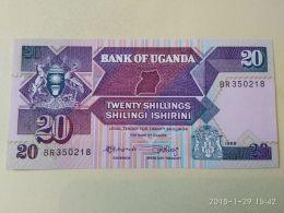 20 Shillings 1987 - Uganda