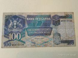 100 Shillings 1998 - Uganda