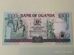 1000 Shillings 1991 - Uganda