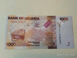 1000 Shillings 2010 - Uganda
