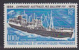 TAAF 1973 Ship / Gallieni 1v  ** Mnh (37407) - Franse Zuidelijke En Antarctische Gebieden (TAAF)