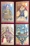 Virgin Islands 1980 Drake Anniversary MNH - Iles Vièrges Britanniques