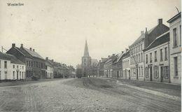 WESTERLOO - WESTERLO - TRES RARE CPA - Cachet De La ,poste 1916 - Westerlo