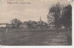 PLASSAC  ( Gironde ) - Quartier De L'église  PRIX FIXE - France