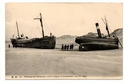 """Naufrage Du """"Britannia""""  Et Du """"Jasper"""" à Ambleuteuse  (Janvier 1904) - France"""