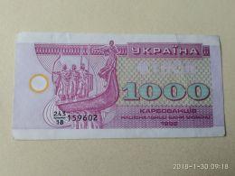 1000 Karbowanez 1992 - Ucraina