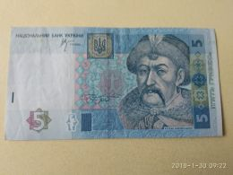 5 Hryvnia 2005 - Ucraina