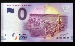 France - Billet Touristique 0 Euro 2018 N° 1884 (UEEE001884/5000) - PONT-CANAL DE BRIARE - EURO