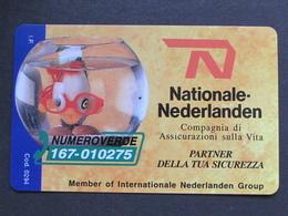 ITALIA SIP - 3260 C&C 169 GOLDEN - PRIVATE PUBBLICHE - NATIONALE NEDERLANDEN - NUOVA - Private-Omaggi