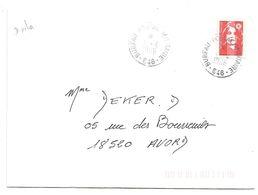 OBLITERATION MANUELLE BUREAU POSTAL MILITAIRE 646 1996 - Marcophilie (Lettres)