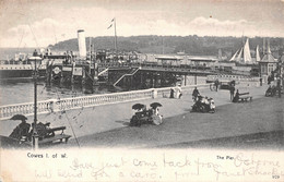 Angleterre England - Isle Of Wight - Cowes - The Pier 1904 - Cowes