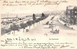 Angleterre England - Isle Of Wight - Ryde - The Esplanade 1903 - Angleterre