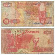 Zambia 50 Kwacha 2003 Pick 37.d Ref 56 - Zambia