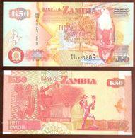 Zambia 50 Kwacha 2007 Pikc 37.f UNC - Zambia