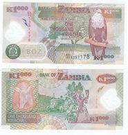 Zambia 1.000 Kwacha 2011 Polímero Pick 44.h UNC - Zambia